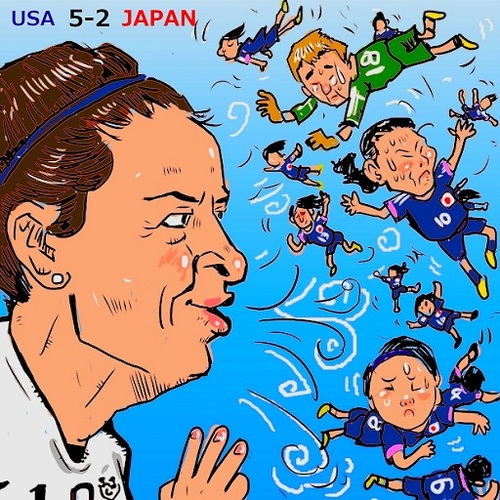 Cartoon: I am done for! (medium) by takeshioekaki tagged football