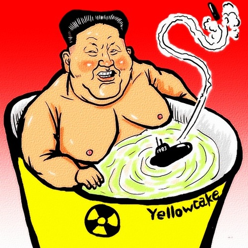 Cartoon: Kim Jong-un (medium) by takeshioekaki tagged kim