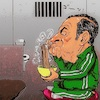 Cartoon: dinner (small) by takeshioekaki tagged ghosn