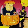 Cartoon: Halloween (small) by takeshioekaki tagged halloween