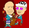 Cartoon: Pet Shop Boys cartoon (small) by Ardy tagged bandcartoon,petshopboys,cartoon,pet,shop,boys