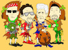 Cartoon: U2 cartoon (small) by Ardy tagged u2,cartoon,bono,vox