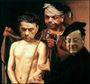 Cartoon: ecce homo (small) by edoardo baraldi tagged berlusconi,alfano,mills