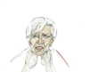 Cartoon: Madame Lagarde (small) by herranderl tagged lagarde,ezb