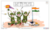 Cartoon: Cartoon On  Kargil Vijay Diwas (small) by Talented India tagged kargilvijaydiwas,talentedindia,talented,cartoon,kargilwar,jaihind