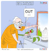 Cartoon: Today Cartoon On Rakesh Asthan (small) by Talented India tagged cartoon,talented,talentedindia,taletednews