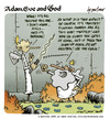 Cartoon: adam eve and god 35 (small) by mortimer tagged english adam eve god cartoon comic gag mortimer mortimeriadas biblical christian original sin expulsion paradise eden snake