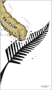 Cartoon: New Zealand terror attack (small) by Sajith Bandara tagged new,zealand