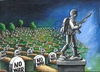 Cartoon: NO WAR! (small) by menekse cam tagged war,peace,death,life,civilian,army,soldiers,syria,turkey,cemetery,sculpture,grave,gravestone