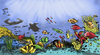 Cartoon: marine life in the philippines (small) by bennaccartoons tagged palawan,philippines,marine,life