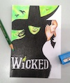 Cartoon: Wickedly awesome play (small) by bennaccartoons tagged wicked,play,pencils,witch,dorothy
