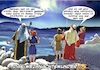 Cartoon: Stern von Betlehem (small) by Joshua Aaron tagged shopping,xmas,christmas,weihnachten,kaufrausch
