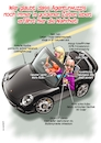 Cartoon: Werbeagenturwuzzi (small) by C Berger tagged webeagentur,grafiker,porsche,pleite