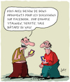 Cartoon: Arguments (small) by Karsten tagged facebook,internet,culture,langue