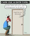 Cartoon: Call Center (small) by Karsten tagged call,center,personnel,service,business