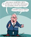 Cartoon: Critique (small) by Karsten tagged politique,critique,caricatures,netanyahu,israel
