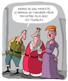 Cartoon: Dragons et Princesses (small) by Karsten tagged contes,litterature,politique,trump,medias