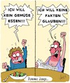 Cartoon: Dumm gelaufen... (small) by Karsten tagged fake,news,faktenleugnung,medien,besorgt,bildung,ernährung,gemüse,gesellschaft,europa,politik,deutschland