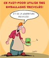 Cartoon: Fast-Food (small) by Karsten tagged fastfood,restaurants,gastronomie,nutrition,sante