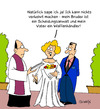 Cartoon: Heirat (small) by Karsten tagged ehe liebe heiraten männer frauen familie gesellschaft kirche religion scheidung anwälte recht