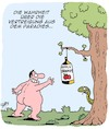 Cartoon: Paradies (small) by Karsten tagged religion,paradies,adam,und,eva,männer,alkohol,glaube,mythen,legenden