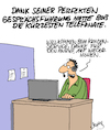 Cartoon: Perfektion (small) by Karsten tagged call,center,jobs,business,wirtschaft,kundenservice,arbeitgeber,arbeitnehmer,technik,kommunikation