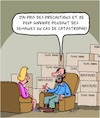 Cartoon: Precautions (small) by Karsten tagged precautions,catastrophes,guerre,environnement,films,politique