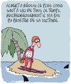 Cartoon: Record du Monde!! (small) by Karsten Schley tagged saut,ski,sports,records,vainqueurs,hiver,medias