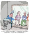 Cartoon: Un Cul Nu (small) by Karsten Schley tagged travail,bureau,economie,photocopieuse,sexisme,police,identification,crime,societe