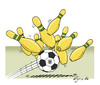 Cartoon: Germany Brasil 2014 (small) by Egero tagged germany,brasil