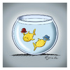 Cartoon: Nice to meet you (small) by Egero tagged fische,egero
