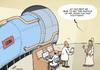 Cartoon: God particle found (small) by rodrigo tagged cern,lhc,science,higgs,boson,physics,god,particle