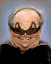 Cartoon: jack nicholson (small) by alvarocabral tagged caricature caricatura