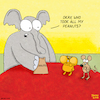 Cartoon: Peanuts (small) by Yavou tagged peanuts,cartoon,yavou,elephant,rat,rodin,gerbil,hamster,funny,stealing