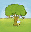 Cartoon: Tobi im Glück (small) by Yavou tagged pizzapitch,pizza,baum,tree,yavou,kartunz,arbre,illustration,illustrationen,schlaraffenland,hunger,glück,dickes,kind,kid,child,fat,fast,food,übergewicht,adipositas,essstörung,funghi,salami,peperoni