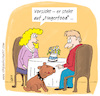 Cartoon: Fingerfood (small) by ichglaubeshackt tagged fingerfoot,essen,rendezvous,hund,wauwau