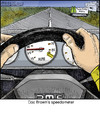 Cartoon: 88 mph (small) by noodles tagged back,to,the,future,delorean,88,mph,doc,brown,speedometer