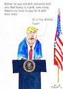 Cartoon: It is the fault of the WHO (small) by Stefan von Emmerich tagged cartoon,coronavirus,donald,trump,virus,karikatu,vote,him,away,the,lyin,king,lair,tweets,tonight