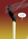 Cartoon: California Arson Fires (small) by NEM0 tagged california,fires,wildfires,natural,disaster,arson,criminal,destructio,environment,attack,sustainable,development,agenda,21,un