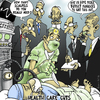 Cartoon: Health Care Cuts (small) by NEM0 tagged health,care,cuts,md,medecine,hospitals,doctor,dr,doc,surgeon,surgery