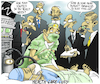 Cartoon: Health Care Cuts (small) by NEM0 tagged dr,doc,med,medical,hospital,scalpel,surgery,surgeon,physician,doctor,cuts,budget,recession,aministrator,manager,management,health,care