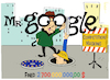 Cartoon: Mr. Google (small) by NEM0 tagged google,shopping,search,engine,results,competition,masking,eu,penalty,fine,euro,europe,shop,nemo,billion,euros,nem0