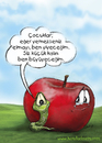 Cartoon: kids magazin (small) by handelizm tagged apple