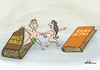 Cartoon: Adam and Eve (small) by elihu tagged book,kamasutra,bible,adamandeve,elihu,heaven