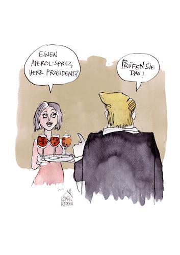 Trump Corona Desinfektionsmittel