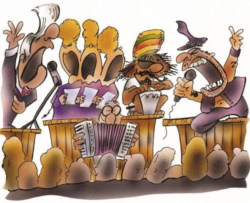 Cartoon: Music (medium) by HSB-Cartoon tagged music,misician,rock,rocknroll,gospel,reggae,singer,song,festival,cartoon,caricature,rockband,folkmusic,rastaman,rap,hip,hiphop,songwriter,microphone,concert,drums,drummer,jazz,blues,punk,dance,country,beat,melodyclassicial,conductor,orchestra,symphony,musik,musikerheavy,metalguitar,music,misician,rock,rocknroll,gospel,reggae,singer,song,festival,cartoon,caricature,rockband,folkmusic,rastaman,rap,hip,hiphop,songwriter,microphone,concert,drums,drummer,jazz,blues,punk,dance,country,beat,melodyclassicial,conductor,orchestra,symphony,musik,musikerheavy,metalguitar