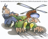 Cartoon: Bundeswehrsparplan (small) by HSB-Cartoon tagged bw,bundeswehr,heer,heeresflieger,general,soldat,hubschrauber,cartoon,karikatur,airbrush