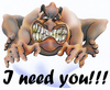 Cartoon: I need you (small) by HSB-Cartoon tagged love,sex,airbrush,man,caricature