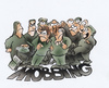 Cartoon: Mobbing Teens (small) by HSB-Cartoon tagged teens,edukation,bringing,up,school,mobbing,bully