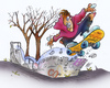 Cartoon: skater (small) by HSB-Cartoon tagged skater,skateboard,teens,jugend,skaterbahn,halfpipe